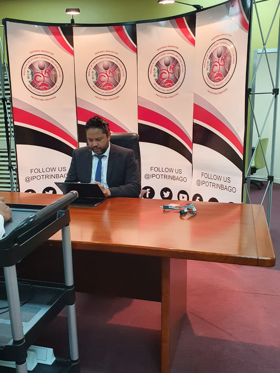 Passage of the Copyright Amendment Bill 2020 – Address by the Controller of the Intellectual Property Office, Mr. Regan Asgarali
